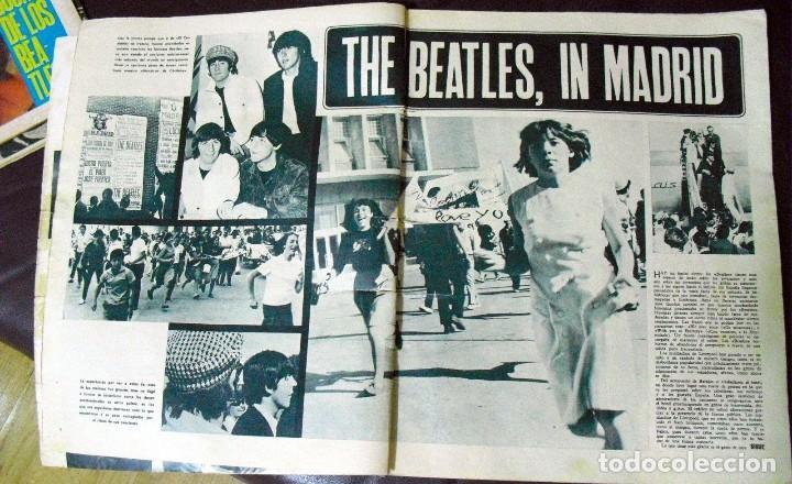 Revistas de música: LOS BEATLES: REVISTA FASCINACION-JULIO 1965-MADRID PLAZA LAS VENTAS-MUY RARA DE VER...... - Foto 5 - 111846195