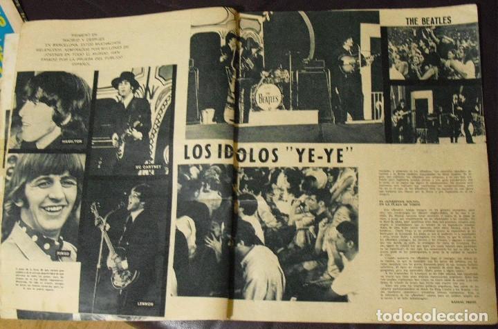 Revistas de música: LOS BEATLES: REVISTA FASCINACION-JULIO 1965-MADRID PLAZA LAS VENTAS-MUY RARA DE VER...... - Foto 7 - 111846195