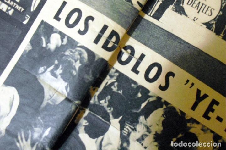Revistas de música: LOS BEATLES: REVISTA FASCINACION-JULIO 1965-MADRID PLAZA LAS VENTAS-MUY RARA DE VER...... - Foto 8 - 111846195