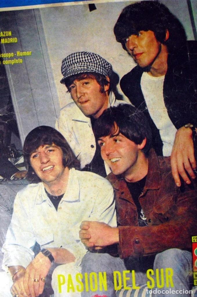 Revistas de música: LOS BEATLES: REVISTA FASCINACION-JULIO 1965-MADRID PLAZA LAS VENTAS-MUY RARA DE VER...... - Foto 9 - 111846195