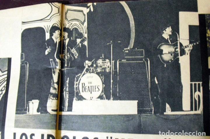 Revistas de música: LOS BEATLES: REVISTA FASCINACION-JULIO 1965-MADRID PLAZA LAS VENTAS-MUY RARA DE VER...... - Foto 10 - 111846195