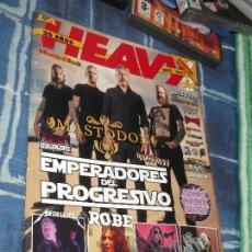 Revistas de música: REVISTA LE HEAVY 35 AÑOS CON POSTER. Lote 112221599