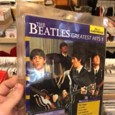 Revistas de música: THE BEATLES GREATEST HITS 1 MUSIC CARTRIDGE YAMAHA RARO CARTUCHO. Lote 112223754