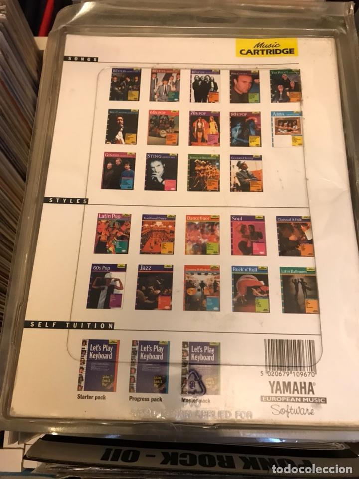 Revistas de música: The Beatles Greatest hits 1 Music cartridge Yamaha Raro cartucho - Foto 2 - 112223754