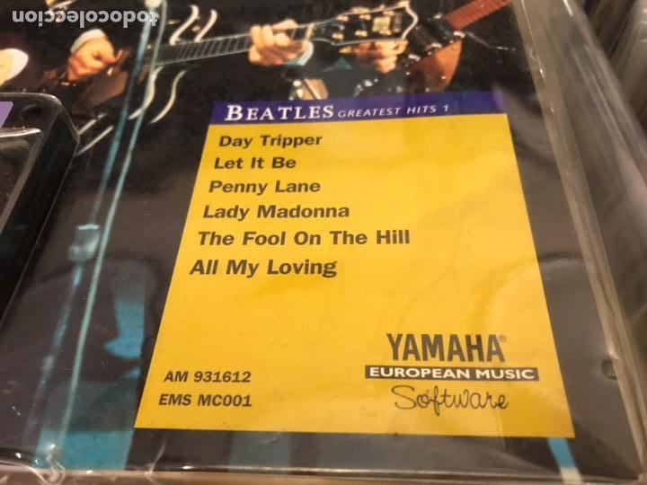 Revistas de música: The Beatles Greatest hits 1 Music cartridge Yamaha Raro cartucho - Foto 3 - 112223754