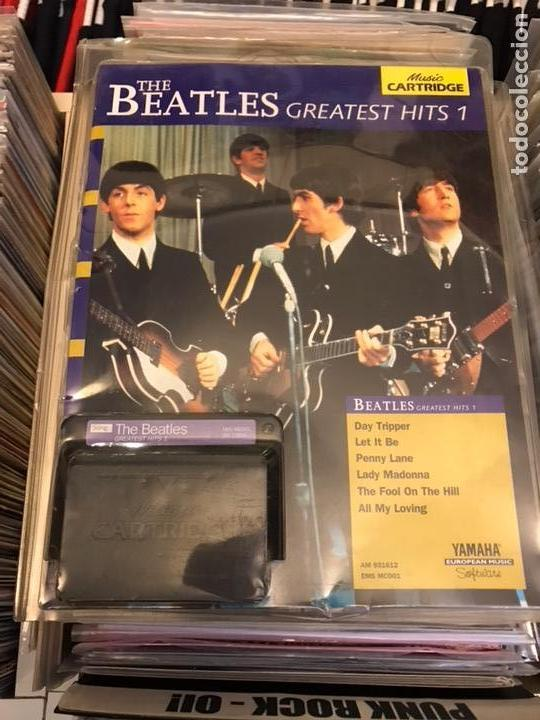 Revistas de música: The Beatles Greatest hits 1 Music cartridge Yamaha Raro cartucho - Foto 5 - 112223754