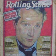 Revistas de música: ROLLING STONE MAGAZINE 1978,79/ SPECIAL DOUBLE ISSUE/ RICHARD DREYFUSS INTERVIEW. Lote 112553419