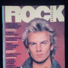 Revistas de música: ROCK ESPEZIAL Nº 1, SEPT 1981. STING, JAIME STINUS, ECHO & THE BUNNYMEN, HEAVY METAL, RAMONCÍN, IGGY. Lote 112565011