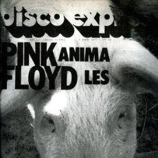 Revistas de música: DISCO EXPRES Nº 416, MARZO 1977, PINK FLOYD ANIMALS, CONCIERTO EN PARÍS. Lote 112596603