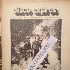 Revistas de música: DISCO EXPRES 146 05-11-71): CANARIOS,SANTANA,J.FELICIANO,SERRAT,ELVIS,SANGRE SAFARI,LA TRINCA. Lote 112631763