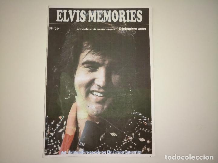 ELVIS MEMORIES Nº 79 - DIC-2009 * FANZINE DE CLUB OFICIAL DE ELVIS PRESLEY EN ESPAÑA- (Música - Revistas, Manuales y Cursos)