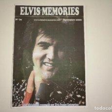 Revistas de música: ELVIS MEMORIES Nº 79 - DIC-2009 * FANZINE DE CLUB OFICIAL DE ELVIS PRESLEY EN ESPAÑA-. Lote 112976835