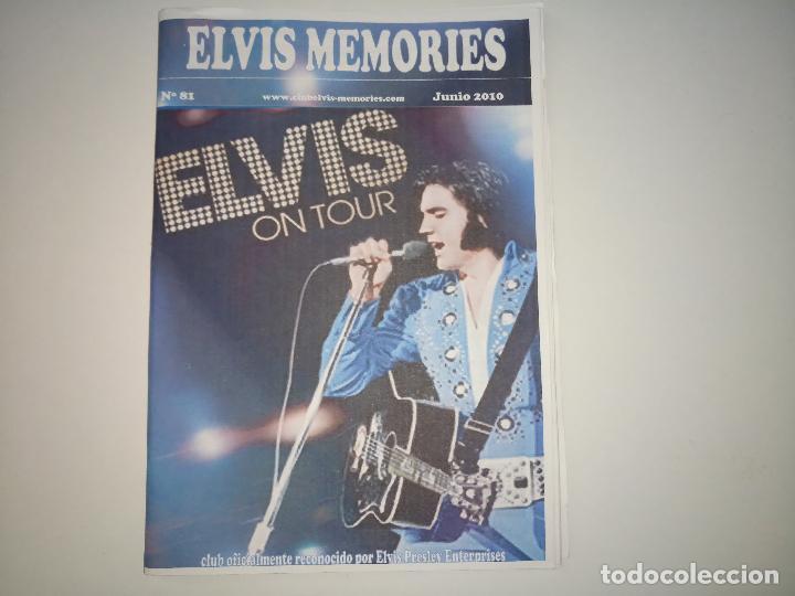 ELVIS MEMORIES Nº 81 -JUN 2010 * FANZINE DE CLUB OFICIAL DE ELVIS PRESLEY EN ESPAÑA- (Música - Revistas, Manuales y Cursos)