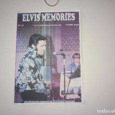Revistas de música: ELVIS MEMORIES Nº 77 -JUN 2009 * FANZINE DE CLUB OFICIAL DE ELVIS PRESLEY EN ESPAÑA-. Lote 112977031