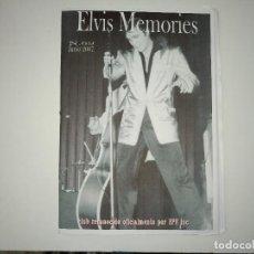 Revistas de música: ELVIS MEMORIES Nº 48 -JUN 2007 * FANZINE DE CLUB OFICIAL DE ELVIS PRESLEY EN ESPAÑA-. Lote 112979099