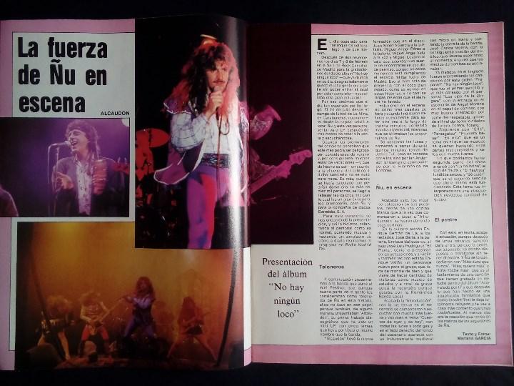 Revistas de música: El Gran Musical nº 271, Sept 1986. Donovan, Mocedades, El Último de la Fila, The Cure,Miguel Ríos,Ñu - Foto 2 - 113015671