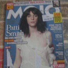 Revistas de música: MOJO PATTI SMITH SONIC YOUTH JOHN MAYALL COCTEAU TWINS PEDIDO MINIMO 10 EUROS. Lote 161779098