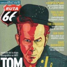 Revistas de música: RUTA 66 N. 356 FEBRERO 2018 - EN PORTADA: TOM WAITS (NUEVA). Lote 160149852