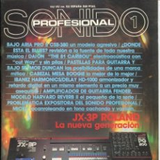Magazines de musique: SONIDO PROFESIONAL 1 - Nº 51. Lote 113664495