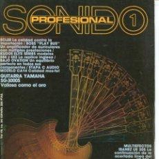 Magazines de musique: SONIDO PROFESIONAL 1 - Nº 54. Lote 113664731