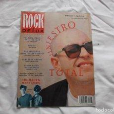 Magazines de musique: ROCK DE LUX Nº 86. SINIESTRO TOTAL. JAMES TAYLOR QUARTET. OFICIAL MATUTE. PHIL SPECTOR. MARY CHAIN.. Lote 220792807