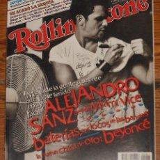 Revistas de música: ROLLING STONE SPAIN #47 2003 ALEJANDRO SANZ NEIL YOUNG BEYONCÉ DOVER JAVIER ALVAREZ REVISTA. Lote 113836551