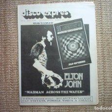 Revistas de música: DISCO EXPRES. Nº 161. 1972. . Lote 114088255