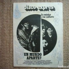 Revistas de música: DISCO EXPRES. N1 159. 1972. . Lote 114088423