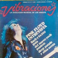Revistas de música: VIBRACIONES. Nº 17. PINK FLOYD. . Lote 114239327