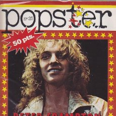 Revistas de música: REVISTA POPSTER PETER FRAMPTON. Lote 114779463