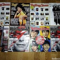 Revistas de música: COLECCION DE REVISTAS ROLLING STONE. Lote 114806039