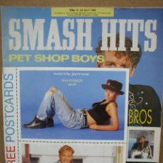 Revistas de música: REVISTA DE MÚSICA SMASH HITS 1989. Lote 114844631