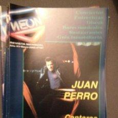 Revistas de música: NEON: NUM 167 MAY 2002: JUAN PERRO,ANASTACIA,PET SHOP BOYS. Lote 114876287