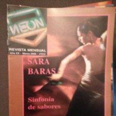 Revistas de música: NEON: NUM 212 MAR 2006 SARA BARAS,EL BARRIO, JOHNNY CASH,EL CANTO DEL LOCO,. Lote 114877331