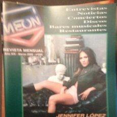 Revistas de música: NEON: NUM 200 MAR 2005: JENNIFER LOPEZ,B.SPRINGSTEEN,MANU CHAO,ORISHAS,MIGUEL BOSE,CHEMICAL BROTHERS. Lote 114877643