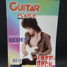 Revistas de música: JEFF BECK - REVISTA GUITAR PLAYER - NUMERO 40- BUEN ESTADO -82 PAGINAS- BEN HARPER- BLUES. Lote 115118415