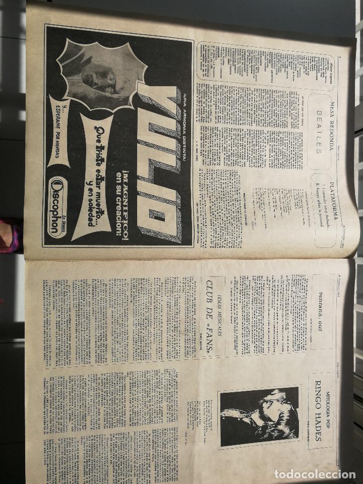 Revistas de música: REVISTA ' DISCO EXPRES ' Nº 98 - noviembre 1970 // PORTADA ' THE WHO Y RAPHAEL ' - Foto 2 - 115130555