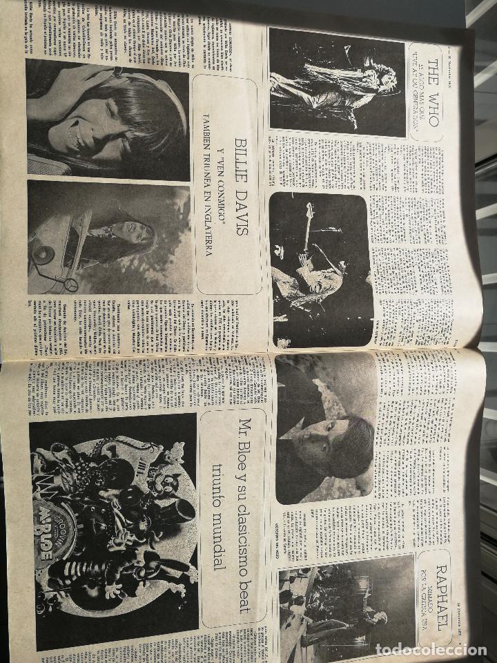 Revistas de música: REVISTA ' DISCO EXPRES ' Nº 98 - noviembre 1970 // PORTADA ' THE WHO Y RAPHAEL ' - Foto 3 - 115130555