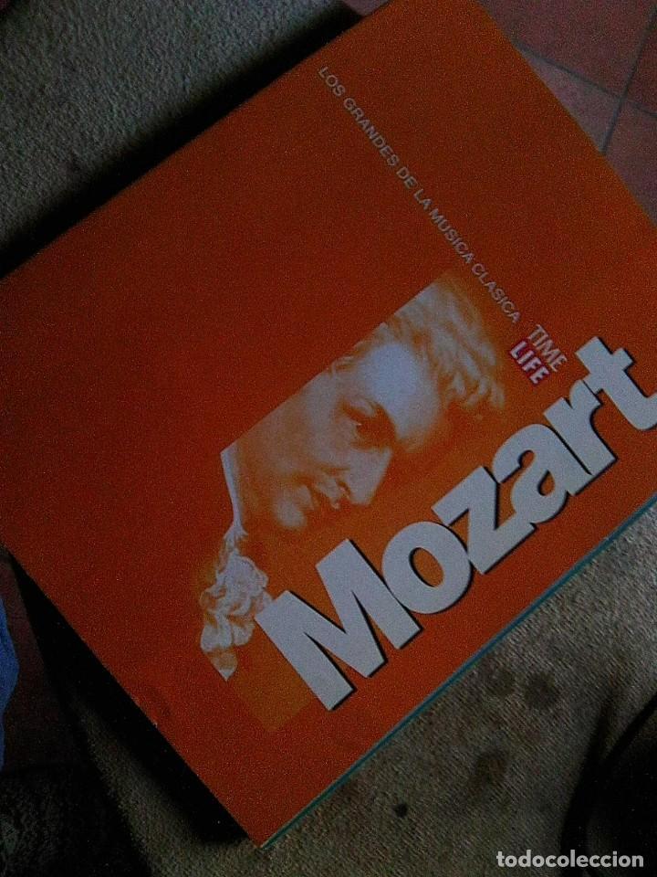 MOZART - TIME LIFE . LOS GRANDES DE LA MÚSICA CLÁSICA (1996) FASCÍCULO BIOGRAFÍA 16 PGS -ESCASO (Música - Revistas, Manuales y Cursos)