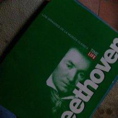 Riviste di musica: BEETHOVEN - TIME LIFE . LOS GRANDES DE LA MÚSICA CLÁSICA (1996) FASCÍCULO BIOGRAFÍA 16 PGS -ESCASO. Lote 115232551