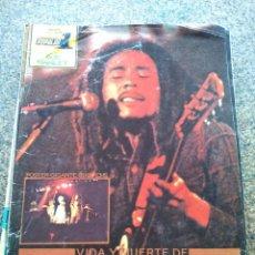Revistas de música: REVISTA POPULAR 1 -- ESPECIAL VIDA Y MUERTE DE BOB MARLEY -- CON POSTER GIGANTE -- 1973 --. Lote 115276579