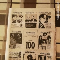 Revistas de música: REVISTA ' DISCO EXPRES ' Nº 100 - OCTUBRE 1970 //PORTADA ' EXPECIAL 100 MUMEROS '. Lote 115416715