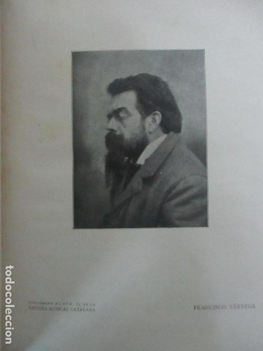 Revistas de música: Revista Musical Catalana - 12 nº- Bulleti Mensual del Orfeó Català - con Fotos - Any VII - Any 1910 - Foto 5 - 115646655
