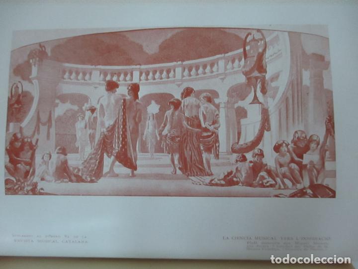 Revistas de música: Revista Musical Catalana - 12 nº- Bulleti Mensual del Orfeó Català - con Fotos - Any VII - Any 1910 - Foto 6 - 115646655