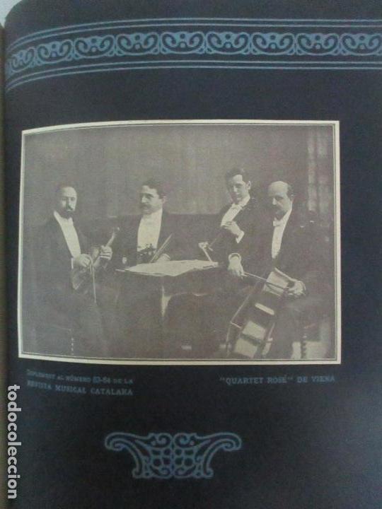 Revistas de música: Revista Musical Catalana - 12 nº- Bulleti Mensual del Orfeó Català - con Fotos - Any VII - Any 1910 - Foto 8 - 115646655