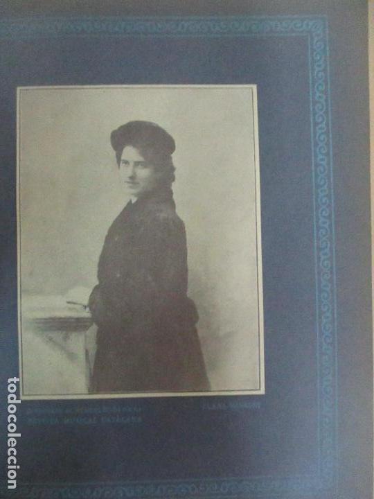 Revistas de música: Revista Musical Catalana - 12 nº- Bulleti Mensual del Orfeó Català - con Fotos - Any VII - Any 1910 - Foto 10 - 115646655