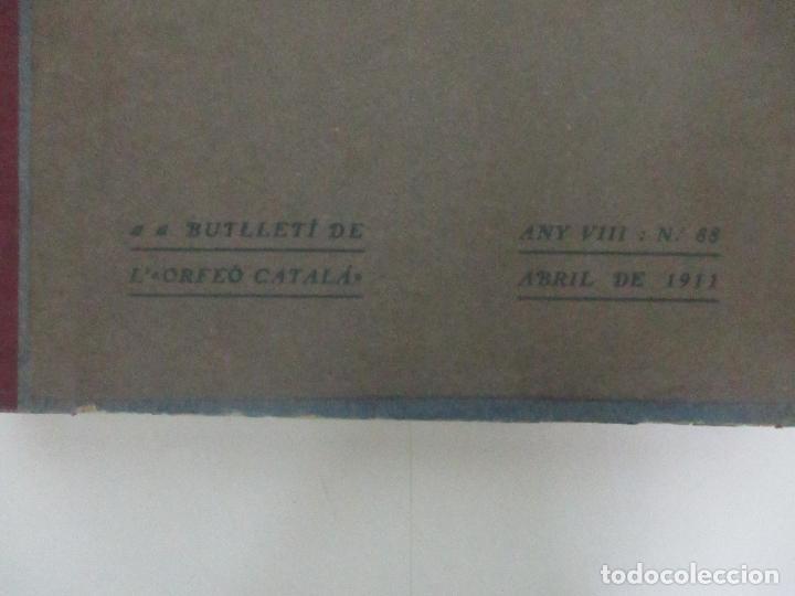 Revistas de música: Revista Musical Catalana - 12 nº- Bulleti Mensual del Orfeó Català - con Fotos - Any VII - Any 1910 - Foto 15 - 115646655