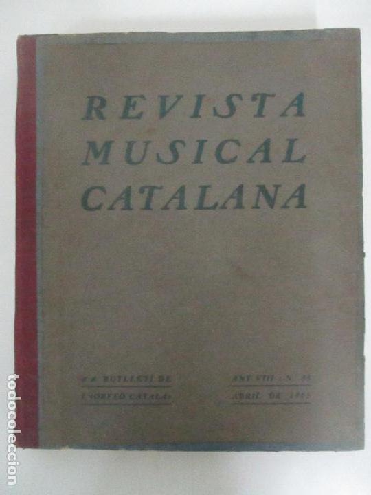 Revistas de música: Revista Musical Catalana - 12 nº- Bulleti Mensual del Orfeó Català - con Fotos - Any VII - Any 1910 - Foto 16 - 115646655