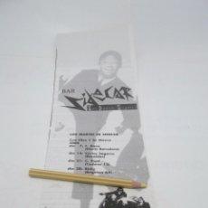 Revistas de música: RECORTE PUBLICIDAD BAR SIDECAR . BARCELONA AÑOS 80. Lote 116274327