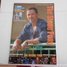 Riviste di musica: BRUCE SPRINGSTEEN REVISTA THE STONE PONY Nº 39,,OTOÑO 2002,AÑO XIII. Lote 116364291